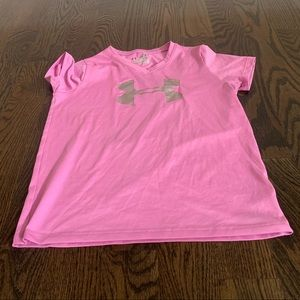 Under Armour youth med loose tee dri-fit